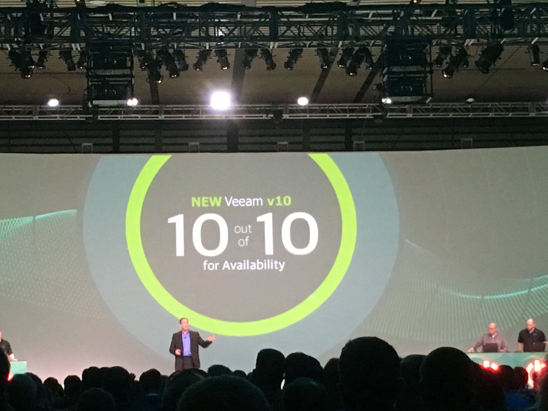 News from VeeamON