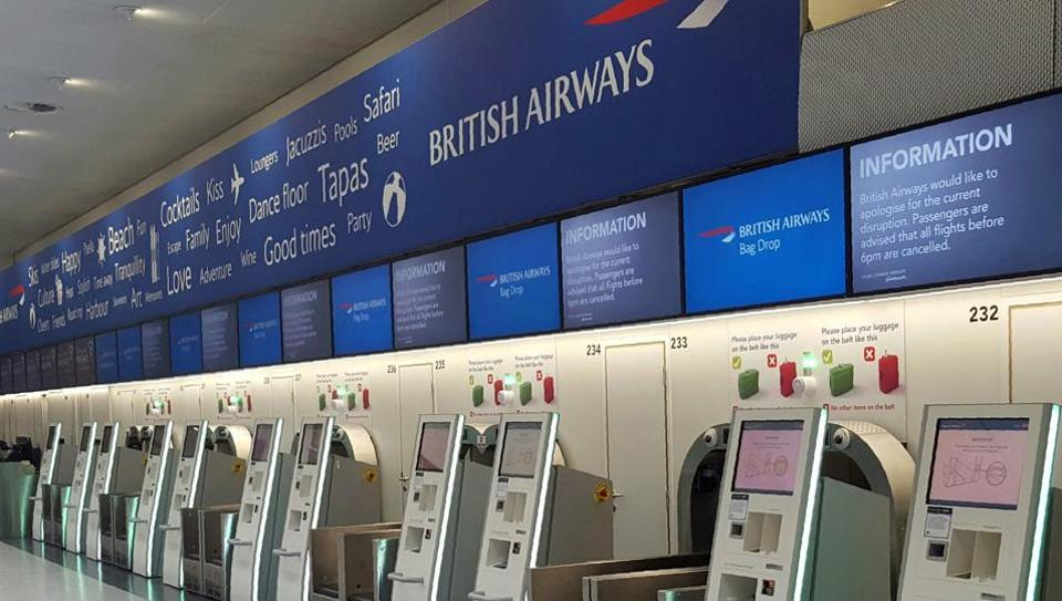A follow up on the British Airways outage